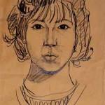 1964 Autoritratto matita