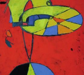 2002, olio su tela, 60 x 45 cm