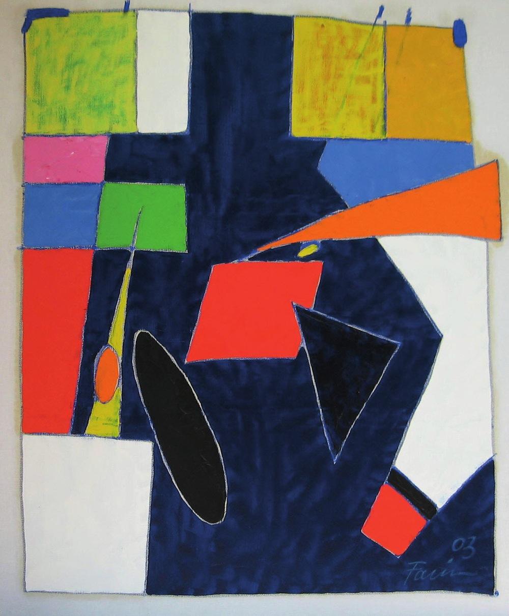 Marina, 2003 <br/> Olio su tela, 70 x 80 cm